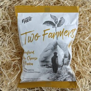 Two Farmers Hereford Cheese and Onion Crisps
